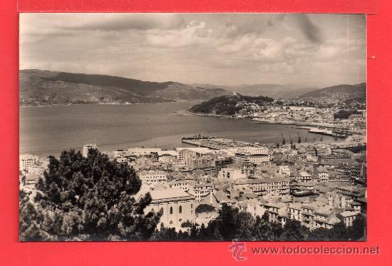POSTAL DE VIGO VISTA PARCIAL Nº 30 EDICION SICILIA CIRCULADA EL AÑO 1963 (Postales - España - Galicia Moderna (desde 1940))