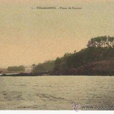 Postales: VILLAGARCIA.PUNTA DE FERRAZO. . Lote 27634581
