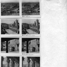 Postales: 14 FOTOGRAFIAS ESTEREOSCOPICAS DE LUGO, EDICIÓN RELLEV , FALTA LA Nº 3. Lote 27706802