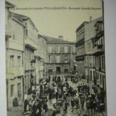 Postales: 100 VILLAGARCIA MERCADO PLAZA MARQUES DE ARANDA RARISIMA POSTAL EDICION SIGLO XX. Lote 28138198