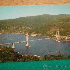 Postales: PONTEVEDRA VIGO PUENTE DE RANDE SIN CIRCULAR POSTALES FAMA. Lote 28204244
