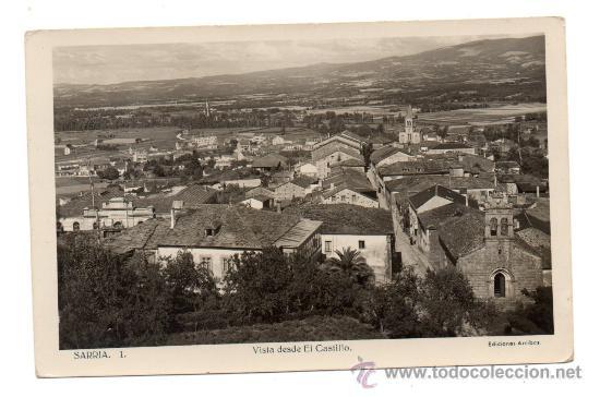 SARRIA. VISTA PARCIAL. (Postales - España - Galicia Antigua (hasta 1939))