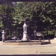 Postales: EL FERROL DEL CAUDILLO - PARQUE MUNICIPAL - EDICIONES PARIS Nº 22 - COLOREADA. Lote 28395113
