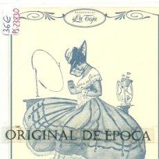 Postales: (PS-23830)POSTAL PUBLICITARIA DE JABONES DE LA TOJA. Lote 28436970