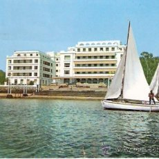 Postales: TARJETA POSTAL. PONTEVEDRA. LA TOJA. GRAN HOTEL. A. CAMPAÑA.. Lote 28650574