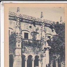 Postales: POSTAL ORENSE MONASTERIO DE SAN ESTEBAN DE RIVAS DE SIL PATIO DE LOS OBISPOS . Lote 28828830