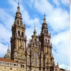 Postales: CATEDRAL - SANTIAGO DE COMPOSTELA. Lote 28839876