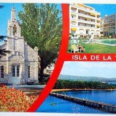 Postales: PONTEVEDRA. LA TOJA. ISLA DE LA TOJA.. Lote 29102039