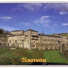 Postales: LUGO - SAMOS - MONASTERIO BENEDICTINO. Lote 29139975