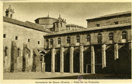 POSTAL LOTE 21 POSTALES ORENSE MONASTERIO DE OSERA (Postales - España - Galicia Antigua (hasta 1939))