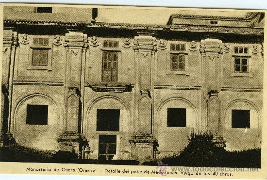 Postales: POSTAL LOTE 21 POSTALES ORENSE MONASTERIO DE OSERA - Foto 4 - 29340049