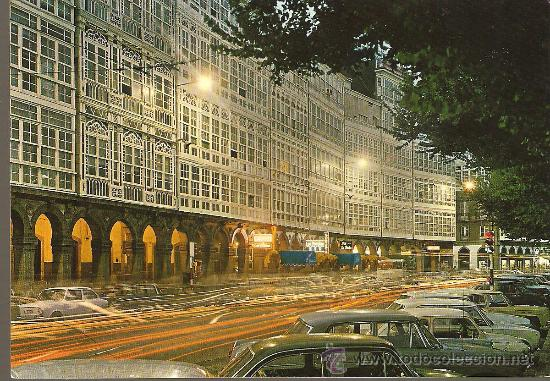 Postal La Coruña Avenida De La Marina Crista Buy Postcards From Galicia At Todocoleccion 29456532