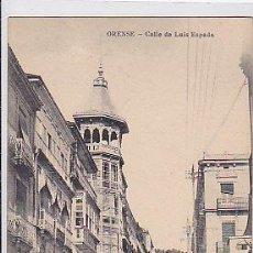 Postales: POSTAL ORENSE CALLE DE LUIS ESPADA . Lote 29499613