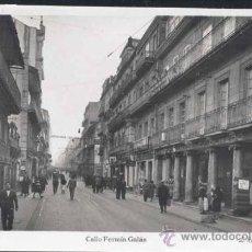 Postales: VIGO (PONTEVEDRA).- CALLE FERMIN GALÁN. Lote 29500060