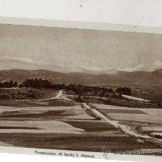 Postales: PANORÁMICA AL FONDO S. MAMED SANTUARIO DE NTRA. SRA. DE LOS MILAGROS SIN CIRCULAR . Lote 29622031