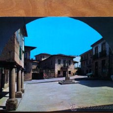 Postales: PONTEVEDRA , PLAZA DE LA LEÑA Y MUSEO PROVINCIAL . POSTALES FAMA Nº 3558. Lote 29684526