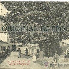 Postales: (PS-25779)POSTAL DE CALDELAS DE TUY-CALLE DE LA ESPERANZA. Lote 29708257