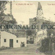 Postales: (PS-25778)POSTAL DE CALDELAS DE TUY-CASA DE BAÑOS. Lote 29708284