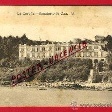 Postales: POSTAL, LA CORUÑA, SANATORIO DE OZA, P65801. Lote 29911525