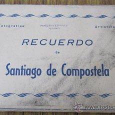 Postales: 10 POSTALES .. SOBRE ACORDEÓN .. RECUERDO DE SANTIAGO DE COMPOSTELA .. AÑOS 50 Nº 11. Lote 29919567