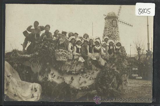 LA CORUÑA - CARNAVALES - FOTOGRAFICA .8986 FERRER-(8605) (Postales - España - Galicia Antigua (hasta 1939))