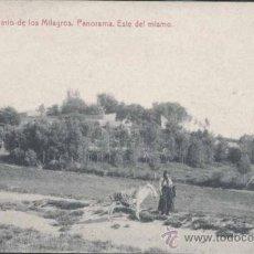 Postales: SANTUARIO DE LOS MILAGROS.-PANORAMA . ESTE DEL MISMO. Lote 30286504