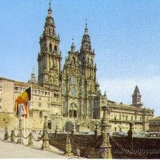 Postales: SANTIAGO DE COMPOSTELA - CATEDRAL - FACHADA OBRADOIRO. Lote 30407532