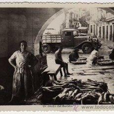 Postales: BONITA POSTAL - VIGO (PONTEVEDRA) - UN RINCON DEL BERBES - VENDEDORES DE PESCADO. Lote 30554593
