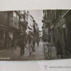 Postales: POSTAL Nº 25 - LA CORUÑA - CALLE REAL. Lote 30560590