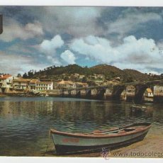 Postales: VIGO - RIA DE VIGO PUENTE SAMPAYO - EDICION ESCUDOS DE ORO - POSTAL. Lote 30634293