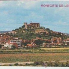 Postales: MONFORTE DE LEMOS - VISTA PARCIAL - EDICION ARRIBAS - POSTAL. Lote 30635298
