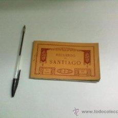 Postales: BLOC DE POSTALES RECUERDO DE SANTIAGO 20 POSTALES 2ª SERIE. Lote 30807002