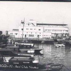 Postales: VIGO (PONTEVEDRA).- REAL CLUB NAUTICO. Lote 30880988