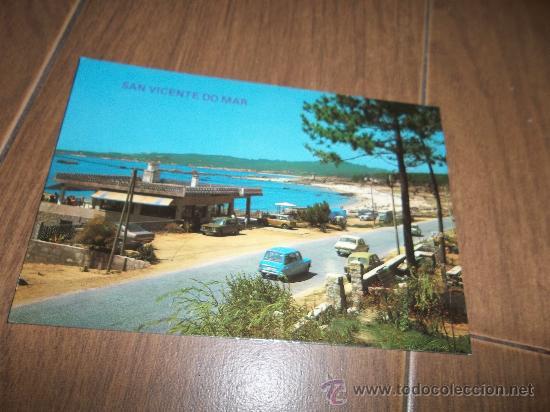 POSTAL DE SAN VICENTE DO MAR PLAYAS (Postales - España - Galicia Moderna (desde 1940))