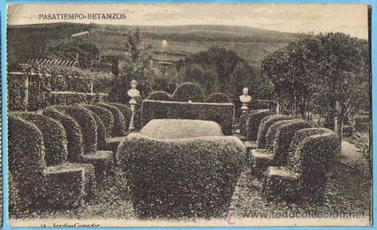 pasatiempo betanzos. 14. jardin - comedor. a co - Comprar Postales ...