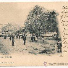 Postales: POSTAL DE EL FERROL. CANTON DE MOLINS-PAPELERÍA EL CORREO GALLEGO. Lote 31232389