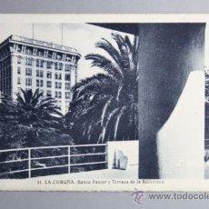 Postales: POSTAL LA CORUÑA - NUMERO 10 DARSENA Y AVENIDA DE LA MARINA - L. ROISIN. Lote 31720703