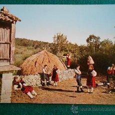 Postales - postal galicia folklore gallego circulada año 65 - 31944678