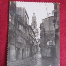 Postales: SANTIAGO DE COMPOSTELA - RUA DEL VILLAR. Lote 32072992