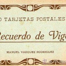 Postales: CUADERNOS POSTALES (4) VIGO VÁZQUEZ/HAUSER MENET 3 COMPLETOS Y EN OTRO FALTA UNA. 39 POST DIFERENT . Lote 32047170