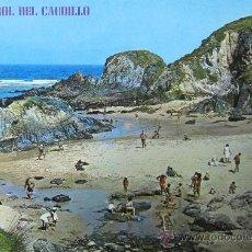 Postales: EL FERROL DEL CAUDILLO: A CORUÑA. PLAYA DE VALDOVIÑO. ED. PARÍS Nº 317. AÑOS 70. Lote 32254345