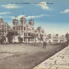Postales: RARA POSTAL AÑOS 10 PASEO DE LA MARINA - LA CORUÑA - ZINCKE HERMANOS. Lote 32318184