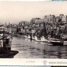 Postales: POSTAL FOTOGRAFIA EL BERBES - VIGO - AÑOS 40 - ARRIBAS - Y RARA. Lote 32318400