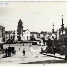 Postales: BONITA POSTAL - BETANZOS (LA CORUÑA) - PUERTA DE LA VILLA CON LA TORRE DE SANTO DOMINGO AL FONDO . Lote 33069226