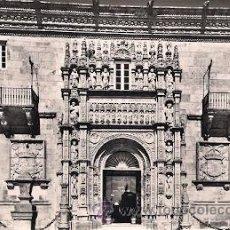 Postales: SANTIAGO DE COMPOSTELA- HOSTAL DE LOS REYES CATOLICOS. Lote 33055514