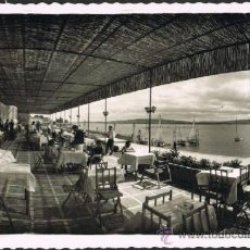 Postales: EXCEPCIONAL POSTAL FOTOGRAFICA DE LA TOJA - PONTEVEDRA - TERRAZA DEL GRAN HOTEL - ARTIGOT. Lote 33236064