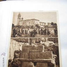 Postales: POSTAL DE MORAÑA PROCESION ANTIGUA PONTEVEDRA GALICIA. Lote 33504960