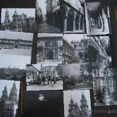 Cartoline: 1964. LOTE DE 32 FOTOS DE SANTIAGO DE COMPOSTELA. (PROV. A CORUÑA). Lote 33618438