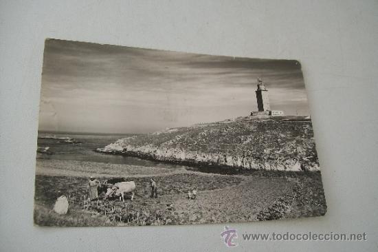 LA CORUÑA.- 1959.- LA TORRE DE HÉRCULES- CIRCULADA (Postales - España - Galicia Moderna (desde 1940))