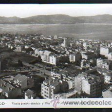 Postales: TARJETA POSTAL DE VIGO - VISTA PANORAMICA Y RIA. 202. L.ROISIN. Lote 33693342